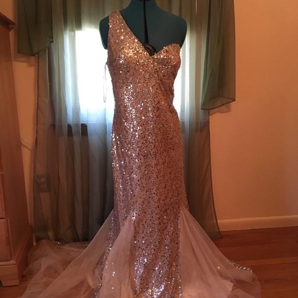Plus size prom/ pageant dress